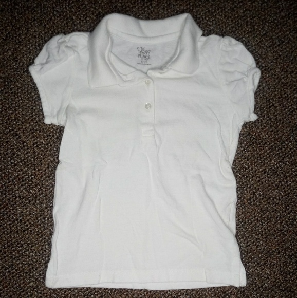 Children's Place Other - White polo